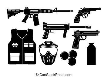 装置, airsoft, 銃