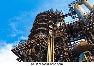 装置, metallurgical, 仕事