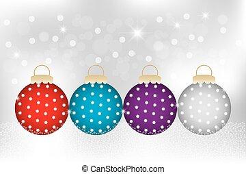 装飾用である, クリスマス安っぽい飾り