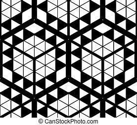 装飾用である, グラフィック, 3次元である, 抽象的, ornament., pattern., 現代, 背景,...