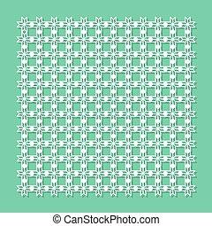 装飾用である, パネル, ∥ために∥, レーザー, cutting., 普遍的, 幾何学的, pattern., ∥, 比率, ある, 1:, 1., ベクトル, illustration.