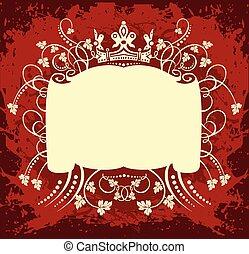 装飾用である, フレーム, ∥で∥, 王冠