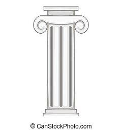 装飾用である, ローマ人, 柱, アイコン