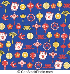 装飾用である, 中国語, パターン, シンボル, ベクトル, アジア人, 背景