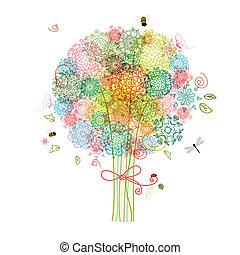装飾用である, 抽象的, 木