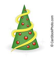 装飾用である, 木, デザイン, クリスマス