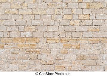 装飾用である, 灰色, 石, 平らでない, 壁, 表面, cement., 割れた