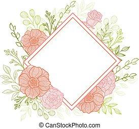 装飾用である, 背景, 花