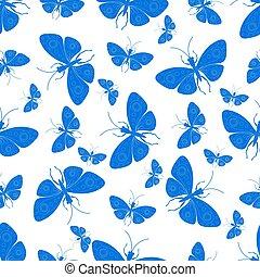 装飾用である, 蝶, 背景