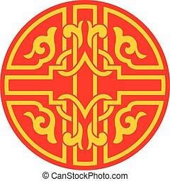 装飾用である, 装飾, 中国語