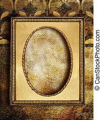 装飾用である, 金, 背景
