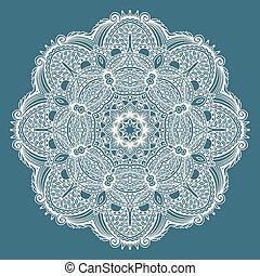 装飾用である, 霊歌, 花, ロータス, シンボル, indian, 円
