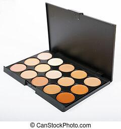 装飾用である, concealers, closeup.set, makeup., 化粧品, ヌード