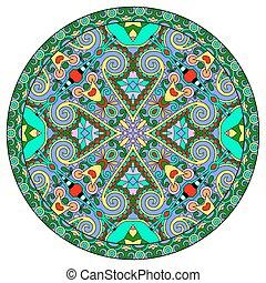 装飾用である, patte, ラウンド, デザイン, 皿, 幾何学的, 円, テンプレート