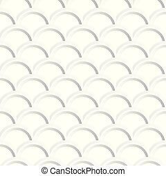 装飾用である, -, pattern., seamless, 手ざわり, ベクトル, 背景, 白