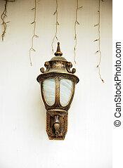 装飾用のライト, 壁