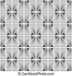 装飾用の木型, 幾何学的なデザイン, seamless