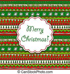 装飾用, クリスマスカード