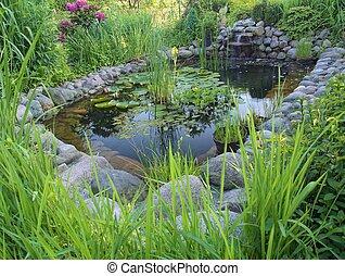 装飾用, 池