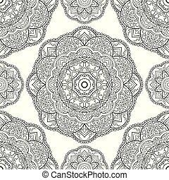 装飾用, mandala., パターン