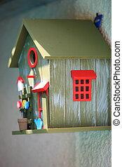 装飾的な 箱, 鳥