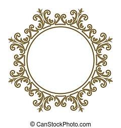 装飾的な 芸術, レース, 東, text., 挨拶, イラスト, 要素, 優雅である, ベクトル, デザイン, カード, 場所, 線, 招待, フレーム, template., スタイル