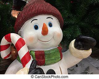 装飾, クリスマス, 陽気
