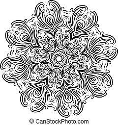装飾, デザイン, あなたの, アラベスク