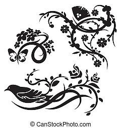 装飾, 中国語, セット