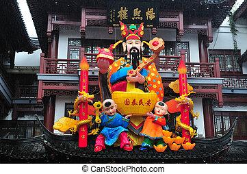 装飾, 中国語