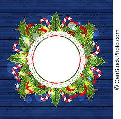 装飾, 休日, グリーティングカード, クリスマス