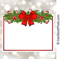 装飾, 優雅である, 休日, クリスマスカード