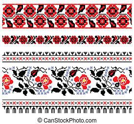 装飾, 刺繍, ウクライナ
