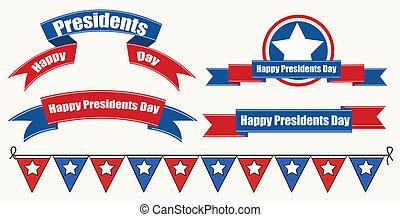 装飾, 大統領日, 幸せ