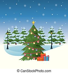 装飾, 木, クリスマス