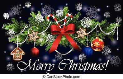 装飾, 杖, クリスマス, キャンデー