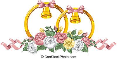 装飾, 結婚式