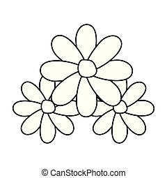 装飾, 花, 3