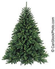 装飾, 裸, なしで, 木, クリスマス