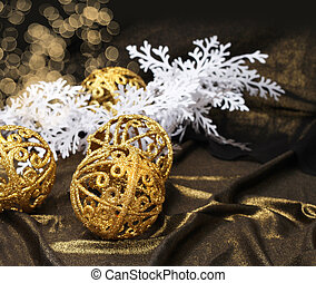装飾, 金, クリスマス
