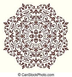 装饰品, pattern., 绕行, 带子
