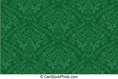 装饰, 植物群, 装饰物, seamless