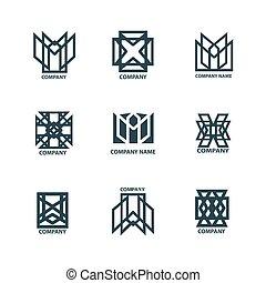 裝置設計, 幾何學, 理念, 為, 公司