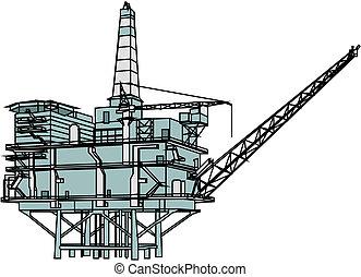 裝置, 石油操練