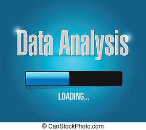 裝貨, 數据, 分析, 插圖