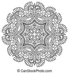 裝飾品, pattern., 輪