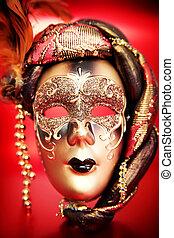 裝飾華麗, 狂歡節面罩