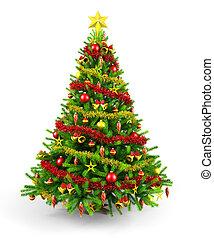 裝飾, 圣誕樹