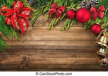 裝飾, 木頭, 聖誕節
