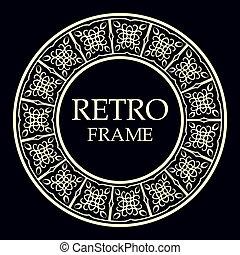 裝飾, 框架, 輪